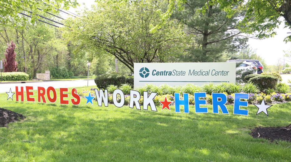 CentraState Medical Center Sign